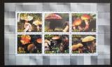Poštovní známky Komijská rep., Rusko 1998 Houby Mi# N/N