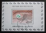 Poštovní známka Belgie 1967 Výstava Postphila Mi# Block 38