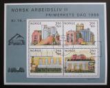 Poštovní známky Norsko 1986 Partnerská města Mi# Block 6 Kat 8€