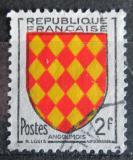 Poštovní známka Francie 1954 Znak Angoumois Mi# 1029