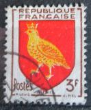 Poštovní známka Francie 1954 Znak Aunis Mi# 1030