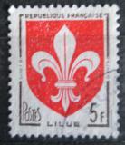 Poštovní známka Francie 1958 Znak Lille Mi# 1223