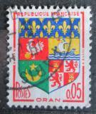 Poštovní známka Francie 1960 Znak Oran Mi# 1321