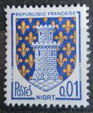 Poštovní známka Francie 1964 Znak Niort Mi# 1458