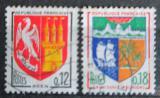 Poštovní známky Francie 1965 Městské znaky Mi# 1472-73