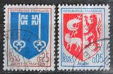 Poštovní známky Francie 1966 Městské znaky Mi# 1534-35
