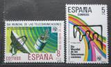 Poštovní známky Španělsko 1979 Mezinárodní den telekomunikací Mi# 2414-15