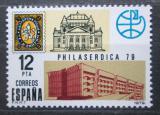 Poštovní známka Španělsko 1979 Výstava PHILASERDICA Mi# 2416