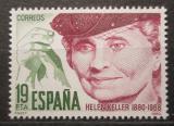 Poštovní známka Španělsko 1980 Helen Keller, spisovatelka Mi# 2466