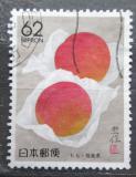 Poštovní známka Japonsko 1990 Broskve Mi# 1962