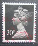 Poštovní známka Velká Británie 1989 Královna Alžběta II. Mi# 1223 C