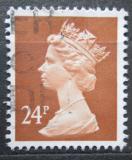 Poštovní známka Velká Británie 1989 Královna Alžběta II. Mi# 1224 C