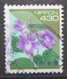 Poštovní známka Japonsko 1994 Viola grypoceras Mi# 2223