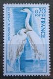 Poštovní známka Francie 1975 Volavka stříbřitá Mi# 1904