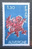 Poštovní známka Francie 1975 Region Auvergne Mi# 1933