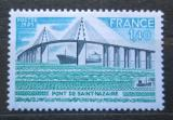 Poštovní známka Francie 1975 Most přes řeku Mi# 1938