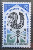 Poštovní známka Francie 1973 Zemědělská komora, 50. výročí Mi# 1858