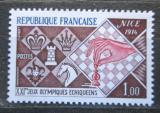 Poštovní známka Francie 1974 Šachová olympiáda Mi# 1878