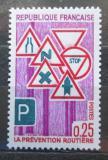 Poštovní známka Francie 1968 Dopravní značky Mi# 1615