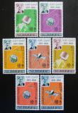 Poštovní známky Aden Kathiri 1966 ITU, 100. výročí Mi# 84-90 Kat 22€