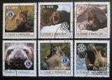Poštovní známky Svatý Tomáš 2003 Lachtani Mi# 2142-47 Kat 10€
