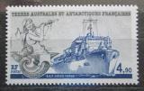 Poštovní známka Francouzská Antarktida 1988 Polární loď Jules Verne Mi# 239