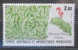 Poštovní známka Francouzská Antarktida 1989 Blechnum penna marina Mi# 254