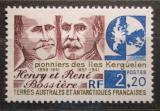 Poštovní známka Francouzská Antarktida 1989 Henry a René Bossiere Mi# 255