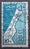 Poštovní známka Egypt 1957 Pásmo Gazy Mi# 507