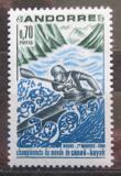 Poštovní známka Andorra Fr. 1969 MS ve vodním slalomu Mi# 216
