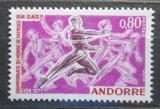 Poštovní známka Andorra Fr. 1971 MS v krasobruslení Mi# 229
