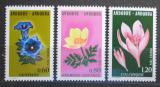 Poštovní známky Andorra Fr. 1975 Květiny Mi# 266-68