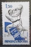 Poštovní známka Andorra Fr. 1979 MS v judu Mi# 302