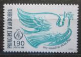 Poštovní známka Andorra Fr. 1986 Mezinárodní rok míru Mi# 374