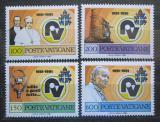 Poštovní známky Vatikán 1981 Rádio Vatikán, 50. výročí Mi# 779-82