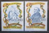 Poštovní známky Vatikán 1981 Johannes van Ruusbroec Mi# 789-90