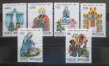 Poštovní známky Vatikán 1988 Umění, Mariánský rok Mi# 940-45