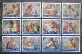 Poštovní známky Vatikán 1991 Restaurace Sixtínské kaple Mi# 1023-34
