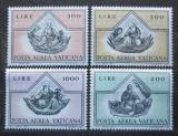 Poštovní známky Vatikán 1971 Fresky, Fra Angelico Mi# 590-93