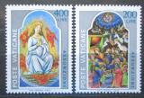 Poštovní známky Vatikán 1977 Miniatury, Panna Marie Mi# 703-04