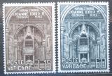 Poštovní známky Vatikán 1960 Římská synoda Mi# 332-33