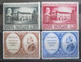 Poštovní známky Vatikán 1957 Collegio Capranica, 500. výročí Mi# 270-73