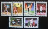 Poštovní známky Kuba 1976 Balet Mi# 2168-73