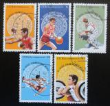 Poštovní známky Kuba 1975 Pan-americké hry Mi# 2072-76