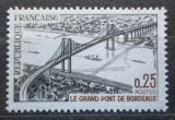 Poštovní známka Francie 1967 Most v Bordeaux Mi# 1581