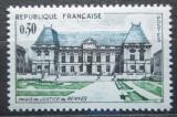 Poštovní známka Francie 1962 Justiční palác v Rennes Mi# 1405