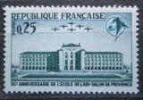 Poštovní známka Francie 1965 Letecká škola v Salon Mi# 1528