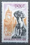 Poštovní známka Francie 1971 Kašna v Dole Mi# 1757