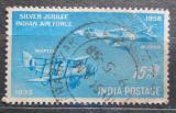 Poštovní známka Indie 1958 Letadla Mi# 284