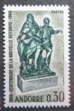 Poštovní známka Andorra Fr. 1967 Sousoší Tancující pár Mi# 201